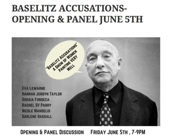 BASELITZ_ACCUSATIONS-_OPENING___PANEL_JUNE_5TH___Women_s_Arts_Network_of_Toronto