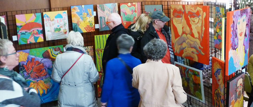 Kingsway-Lambton Art Sale April 2016